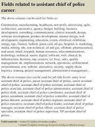 Chief Of Police Resume Examples by Police Chief Resume Template Examples
