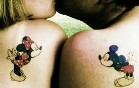 taturday geeky couple tattoos smosh