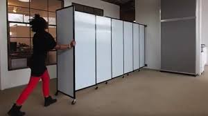 accordion room dividers replace accordion doors with a sliding partition wall youtube