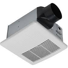 designer wall mounted fans shop utilitech 1 5 sone 90 cfm white bathroom fan at lowes com