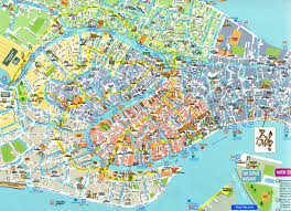 Venice Map Venise Carte Plan Map Venice Venezia