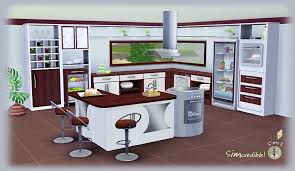 cuisine sims 3 sims kitchen designs updates simcredible home building plans 32364