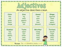 Resume Adjectives Adjectives Workshop Lessons Tes Teach