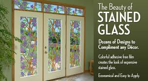 decorative and privacy window stained glass frosted glass