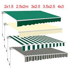 Industrial Awnings Canopies Garden Patio Awning Canopy Sun Shade Shelter Replacement Fabric