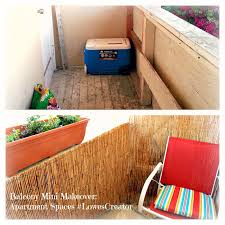 apartment balcony mini makeover outdoors small space makeover