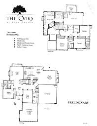 Public Floor Plans by The Oaks At Long Canyon Wood Ranch