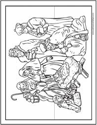 christmas nativity coloring pages www rtvf info www rtvf info