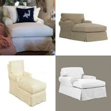Slipcovers For Recliner Sofas by Inspirations Slipcovers For Sectional Sofas With Chaise Chaise