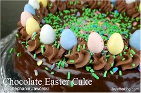 chocolate easter cake recipe joyofbaking com tested recipe