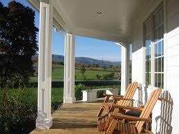 concrete porch covering options