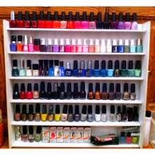 diy nail polish wall rack totally doing this i need to haha