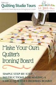 quilting ironing board table cut stitch piece monica curry quilt designs