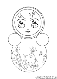 coloring page roly poly