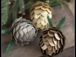 diy pinecone ornaments for joann fabric craft stores