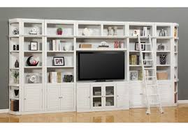 parker house boca 9 piece bookcase entertainment center