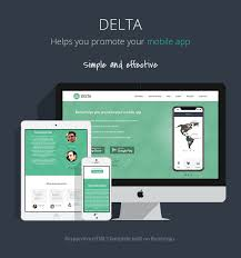 themes for mobile apps responsive bootstrap theme for mobile apps delta