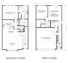 sle floor plans 2 story home townhouse with garage plans home desain 2018