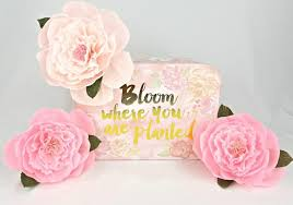 Home Floral Decor Crepe Paper Peony Paper Peony Home Wall Decor Baby Shower