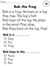 1st grade reading story grade reading fluency and comprehension passages entire