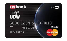 top prepaid debit cards udw u s bank focus card login udw the homecare providers