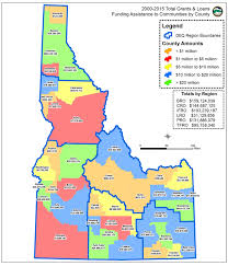 Idaho County Map Deq Provides Funding Opportunities For Drinking Water And