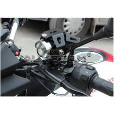 Led Lights For Motorcycle Auxbeam 5 Inch 125w Cree U5 Fisheye Optical Lens Led Motorcycle Light