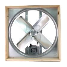 attic 24 inch belt drive whole house fan with shutter