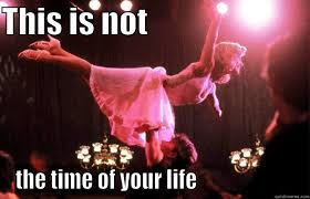 Dirty Dancing Meme - dirty dancing lift quickmeme