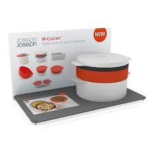 microwave cooking set m cuisine joseph joseph white on