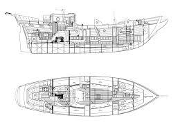 ship floor plans 61 u0027 brigantine mermaid