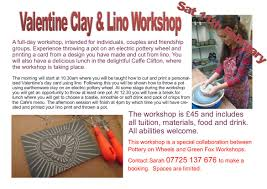 christmas decoration making in the garden studio 2 pottery on