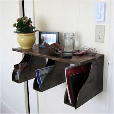 great storage solutions using magazine holders