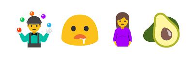 champagne emoticon android 7 0 nougat emoji changelog