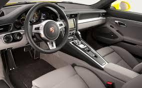 porsche 911 inside 2012 porsche 911 s drive motor trend