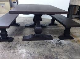 jeff santini j design oceanside ca ebony trestle dining table