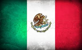Mexican American Flag Drawn Flag Mexican Pencil And In Color Drawn Flag Mexican