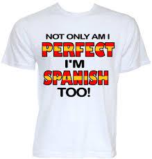 Spanish Flag Mens Funny Cool Novelty Spanish Flag Spain T Shirts Joke Gift