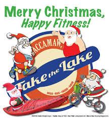merry christmas happy fitness