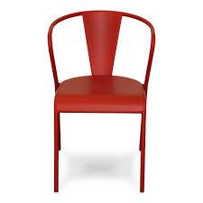Table Et Chaise Cuisine Ikea by Chaise Rouge En Acier Design Rouge Akaros Chaises Tables Et