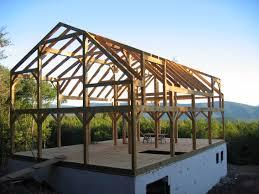 diy timber frame house construction house interior