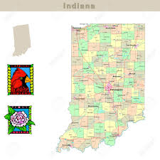 South Usa Map by Usa Indiana Remembering Letters And Postcards Maps Visit Indiana