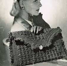75 best vintage knitted bags images on vintage