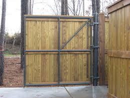 commercial dumpster enclosures fences unlimited fences unlimited