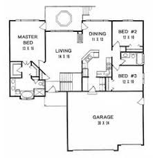 One Level House Plans Ranch House Plan 96125 Level One Home Pinterest Ranch House