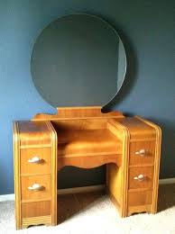 vanities antique vanity with mirror black antique wood makeup
