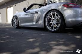 Porsche Boxster Spyder - featured fitment porsche boxster spyder with pur fl26 wheels