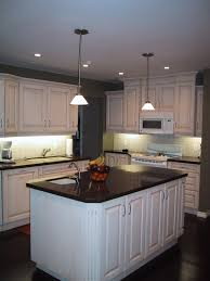 Lowes Lighting Kitchen by Best Black Countertop And Lowes Kitchen Cabinet With Pendant Lamp