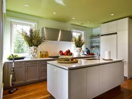 Colour Designs For Kitchens Painting Kitchen Ceilings Pictures Ideas U0026 Tips From Hgtv Hgtv