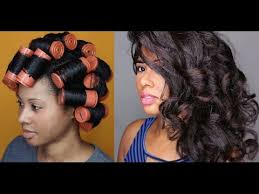 cold wave rods hair styles how to jumbo perm rod set youtube